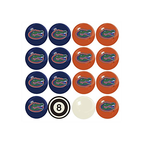 Imperial Officially Licensed NCAA Merchandise: Home vs. Away Billiard/Pool Balls, Complete 16 Ball Set, Florida Gators (Florida Set Billiard Ball)