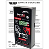 Crystal Engineering IS33-36/3000PSI-CERT Dual Pressure Calibrator, 36 to 3K PSI w/NIST Calibration