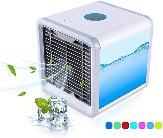 Tango Mini acondicionador de Aire portátil | Ventilador, humidificador y purificador del Aire con Puerto de USB: Amazon.es: Hogar