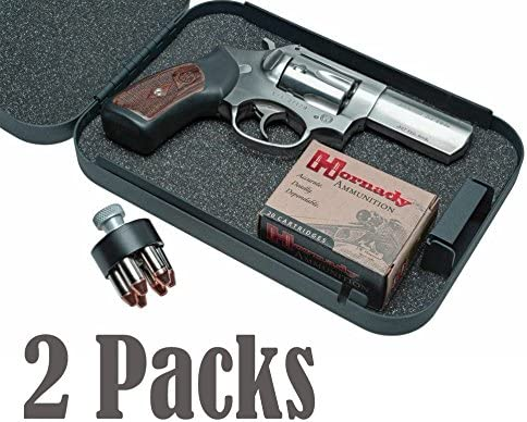 Gun Vault XXLarge Lock Box 2 Pack Keyed Alike Car Truck Home Safe Travel Jewelry