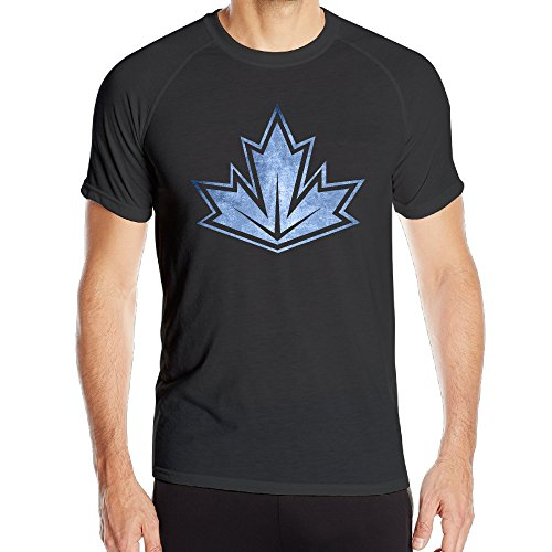 Price comparison product image Men's Team Canada 2016 World Cup Of Hockey Black Pond Quick Drying T-Shirt Black