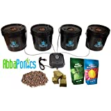 Bubble Monster - 4 Site DWC Hydroponic Bucket System by Abbaponics This professionally built DWC hydroponic bucket system comes with everything you need to start growing your crops today! One of the easiest hydroponic methods, DWC systems are simple ...