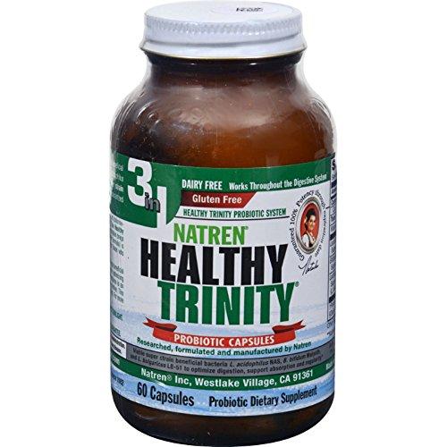 Natren Healthy Trinity, 60 ct (Natren Healthy)