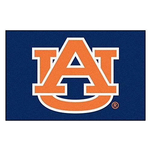 FANMATS NCAA Auburn University Tigers Nylon Face Starter Rug by (Fanmats Auburn Rug)