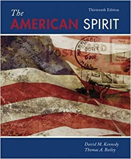 The American Spirit: United States History as Seen by Contemporaries by David M. Kennedy (2015-01-01)
