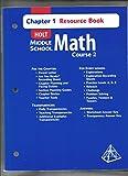 Middle School Math, Holt, Rinehart and Winston Staff, 0030679397