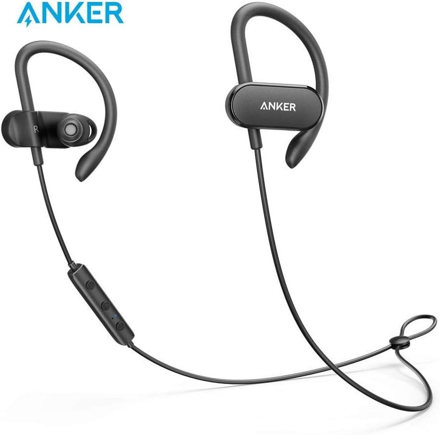 Anker A3261ZF1 SoundBuds Arc Ear-Hook Wireless Headphones