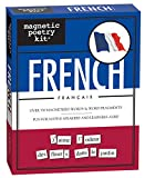 word fridge magnets - Magnetic Poetry - French Kit - Words for Refrigerator - Write Poems and Letters on the Fridge - Made in the USA