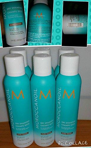 New! 6 Moroccanoil Dry Shampoo-dark Tones - Spray 5.4 Oz. by Moroccanoil