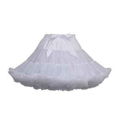 DAY.LIN - Faldas de Ballet Cortas para Mujer, Color Liso, Faldas ...