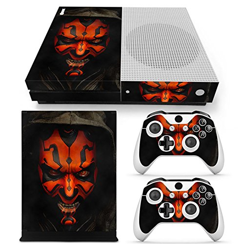 GoldenDeal Xbox One S Console and Wireless Controller Skin Set - Star Warrior - XboxOne S XOS Sticker Vinyl