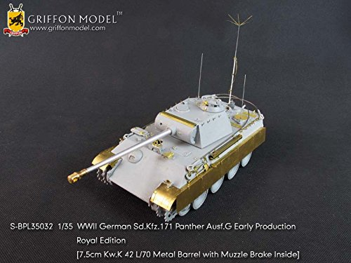 (Griffon Model 1/35 WWII German Sd.Kfz.171 Panther Ausf.G Early Production Royal Edition SBPL35032)