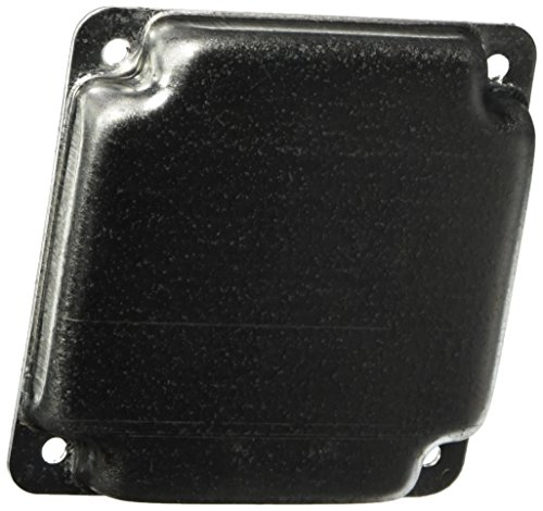 Hubbell-Raco 804C 1/2-Inch Raised Blank Square Cover, - Raco Cover