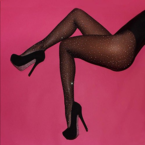 Hemlock Women's Net Fishnet Stockings Elastic Tights Stockings - Pictures Nylon Sexy Feet