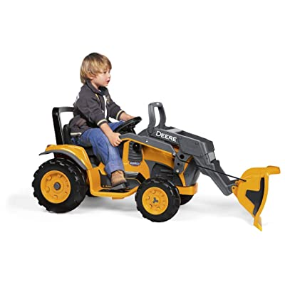 Peg Perego John Deere Construction Loader: Toys & Games