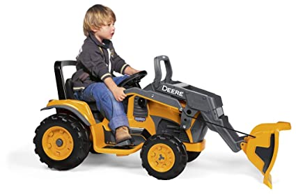 Peg Perego Ride On Toys >> Amazon Com Peg Perego John Deere Construction Loader Toys Games