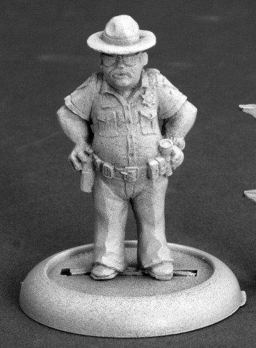 Reaper Joe Don Mitchell Sheriff 50256 Miniatures Reaper Miniatures REM50256