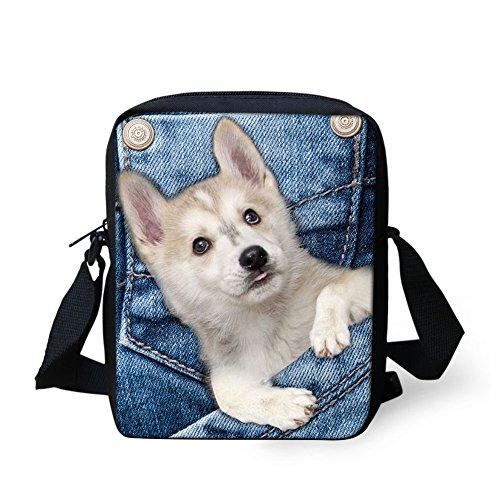 Mini Pocket IDEA Print Travel Crossbody Pet Shoulder Dog Sling HUGS Bags Handbags 5FwIdqwW