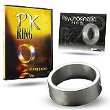 Magic Makers Medium PK Ring Magic Trick wtih Instructional Learning Guide