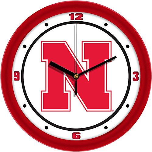 SunTime NCAA Nebraska Cornhuskers Traditional Wall Clock