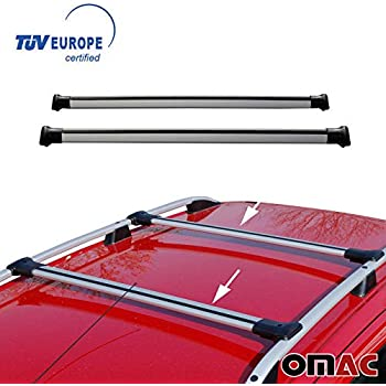 17f0e4b9c1e1 Amazon.com: OMAC USA Toyota RAV4 III 2006-2019 Roof Racks Cross Bars ...