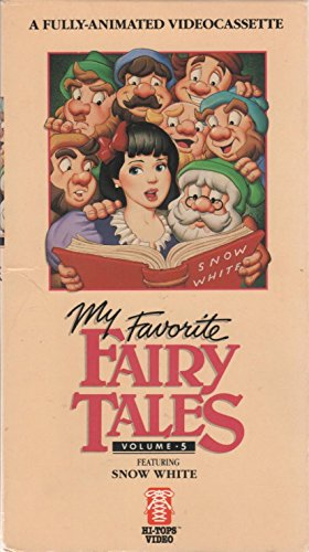 Animated Fairy Tales - My Favorite Fairy Tales Featuring Snow White, Volume 5