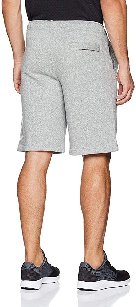 Nike Mens HBR Fleece Shorts Grey Heater 928731-063 Size Small