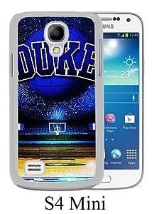 Samsung Galaxy S4 Mini case,Unique Design Duke Basketball White cell phone case for Samsung Galaxy S4 Mini