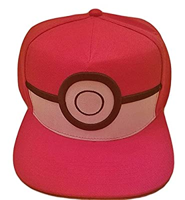 Pokemon POKEBALL Logo Adjustable Snapback Cap/Hat