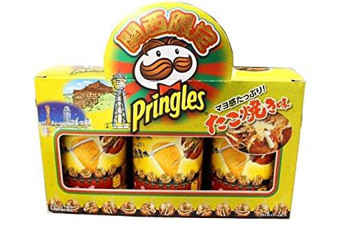 Pringles プリングルズ たこ焼き味 関西限定