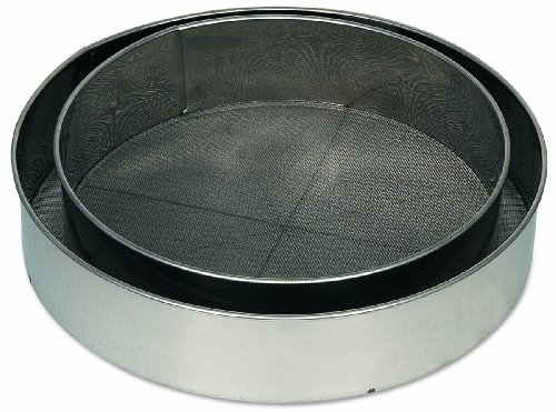 Alegacy S9908 Stainless Steel Rim Sieve, 8-Inch