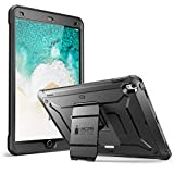 New iPad Pro 10.5 inch case, SUPCASE [Heavy Duty] [Unicorn Beetle PRO Series] Full-body Rugged Protective Case with Built-in Screen Protector Design for New Apple iPad Pro 10.5 inch 2017 (Black/Black)