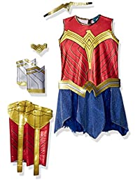Justice League Child's Wonder Woman Deluxe Costume, Large