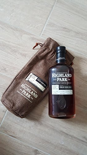Highland Park Calle Cask No.1 Limited to 654 bottles Single Cask Series Refill Butt Scotch Whisky Kirkwall