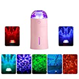 Pavlit Cool Mist Humidifier with Colorful Projector Lamp,...