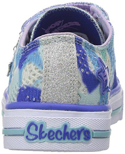 Pictures of Skechers Kids Kids' Shuffles-Lookin Lovely Sneakerblue/ 10760L 8