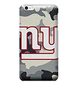 NFL-New York Giants Skin Tough Phone Case Covers,Stylish Protective Covers Compatible For iphone 6(4.7)