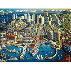 San Francisco 1,000-pc. Jigsaw Puzzle