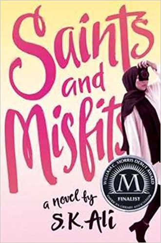 cover image, Saints and Misfits