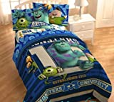 Disney's Monsters University Microfiber Comforter, 64'' x 86''