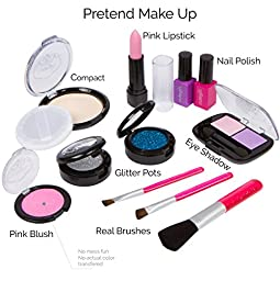 Cutegirl Cosmetics Pretend Play Makeup Kit. Designer Girls \