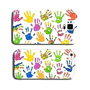 Many colorful children's hands (optional) cell phone cover case Samsung S6
