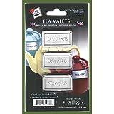 Stainless Steel Tea Valets - Jasmine, Oolong, Sencha