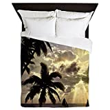 CafePress - Beach4sc - Queen Duvet Cover, Printed Comforter Cover, Unique Bedding, Microfiber