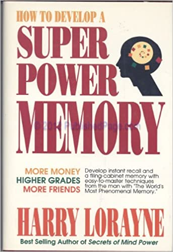 how to develop our memory power