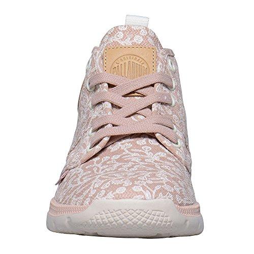 Marshmallow Print Pallaville Hi Femme Palladium rosa Sneaker Tulip EYqT1I