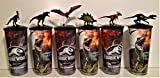#6: Jurassic World: Fallen Kingdom Movie Theater Exclusive Cup Topper Set #1 With 44 oz Cups