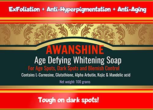 Awanshine whitening soap with