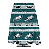 Marrytiny Design Barber Salon Cape Apron Philadelphia Eagles Football Team Women's Men's Home Hair Cutting Apron Hairdresser Wai Cloth Barber Gown Wrap Profession Bib 55x66 Inches