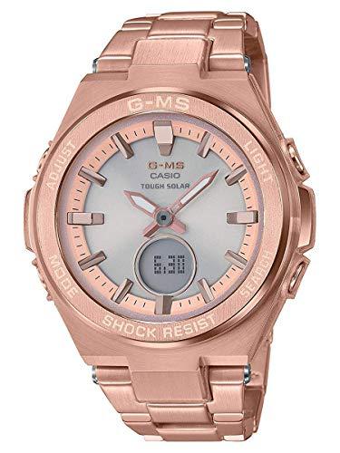 Ladies' Casio Baby-G G-MS Rose-Tone Watch MSGS200DG-4A